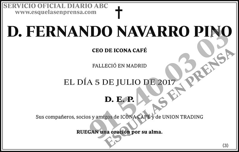 Fernando Navarro Pino